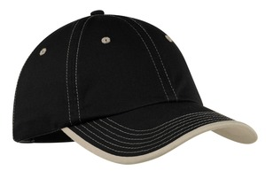 Port Authority Vintage Washed Contrast Stitch Cap Style C835 1