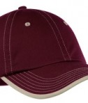 Port Authority Vintage Washed Contrast Stitch Cap Style C835