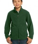 Port Authority Y217 Youth Value Fleece Jacket Forest Green