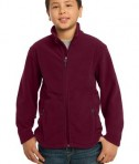 Port Authority Y217 Youth Value Fleece Jacket Maroon