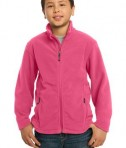 Port Authority Y217 Youth Value Fleece Jacket Pink Blossom