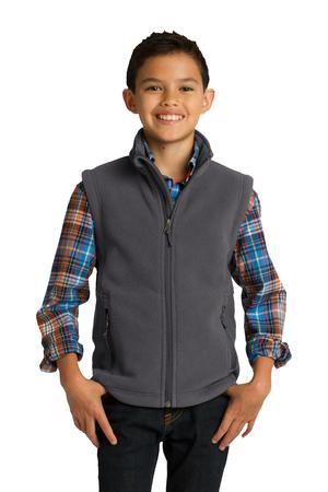 Port Authority Y219 Youth Value Fleece Vest Iron Grey