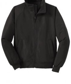 Port Authority Y328 Youth Charger Jacket True Black