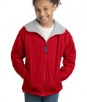 Port Authority Youth Team Jacket YJP56 Red