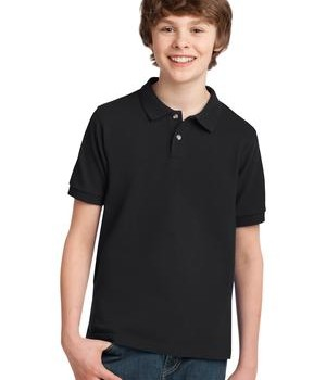Port Authority Youth Pique Knit Polo Style Y420 1