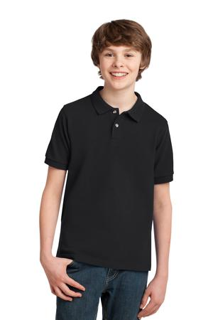 Port Authority Youth Pique Knit Polo Style Y420