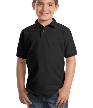 Port Authority Youth Silk Touch Polo Style Y500 1