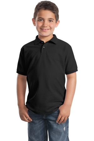 Port Authority Youth Silk Touch Polo Style Y500