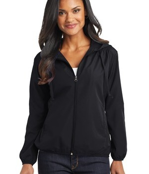Port Authority® Ladies Hooded Essential Jacket Style L305 1