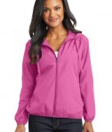 Port Authority® Ladies Hooded Essential Jacket Style L305