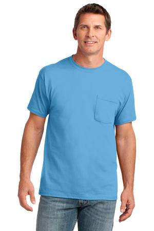 Port & Company 5.4-oz 100% Cotton Pocket T-Shirt Style PC54P