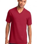 Port & Company 5.4-oz 100% Cotton V-Neck T-Shirt Style PC54V