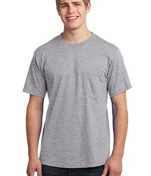 Port & Company – All-American Tee with Pocket Style USA100P 1