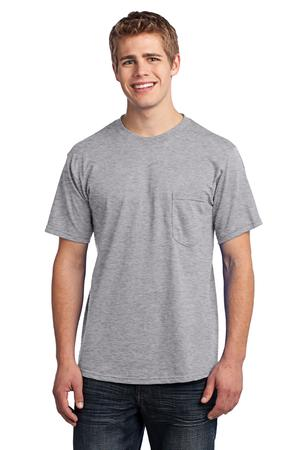 Port & Company - All-American Tee with Pocket Style USA100P