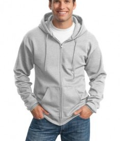 Port & Company - Classic Full-Zip Hooded Sweatshirt Style PC78ZH