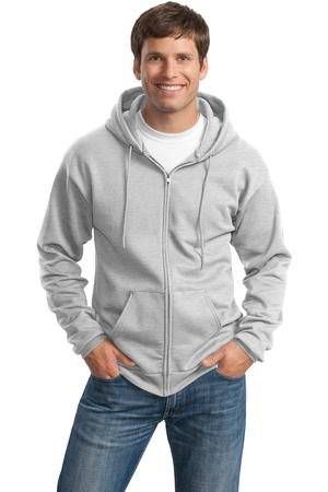 c92436a4387ab Port   Company - Classic Full-Zip Hooded Sweatshirt Style PC78ZH - Casual  Clothing for Men