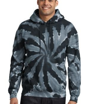 Port & Company Essential Tie-Dye Pullover Hooded Sweatshirt Style PC146 1