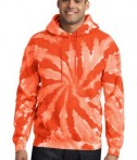 Port & Company Essential Tie-Dye Pullover Hooded Sweatshirt Style PC146
