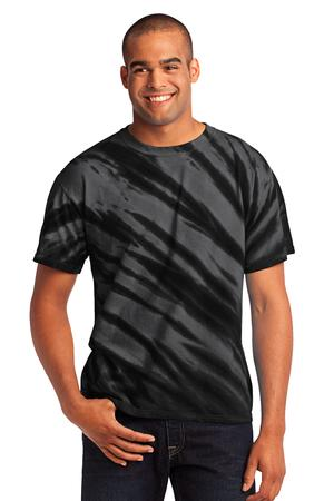 Port & Company – Essential Tiger Stripe Tie-Dye Tee Style PC148 1