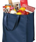 Port & Company - Extra-Wide Polypropylene Grocery Tote Style B160