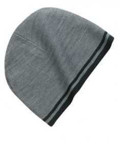 Port & Company - Fine Knit Skull Cap with Stripes Style CP93