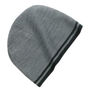 Port & Company – Fine Knit Skull Cap with Stripes Style CP93 1