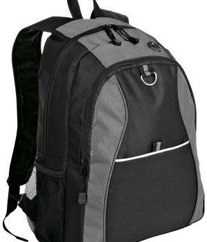 Port & Company Improved Contrast Honeycomb Backpack Style BG1020 1