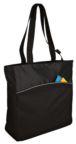 Port & Company - Improved Two-Tone Colorblock Tote Style B1510