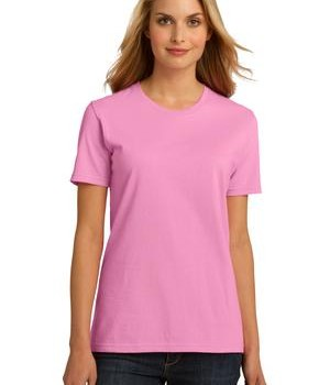 Port & Company Ladies Essential 100% Organic Ring Spun Cotton T-Shirt Style LPC150ORG 1