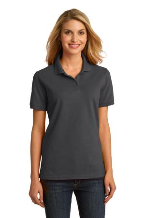 Port & Company Ladies Ring Spun Pique Polo Style LKP150