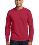 Port & Company - Long Sleeve 50/50 Cotton/Poly T-Shirt Style PC55LS