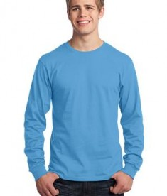 Port & Company - Long Sleeve 5.4-oz. 100% Cotton T-Shirt Style PC54LS