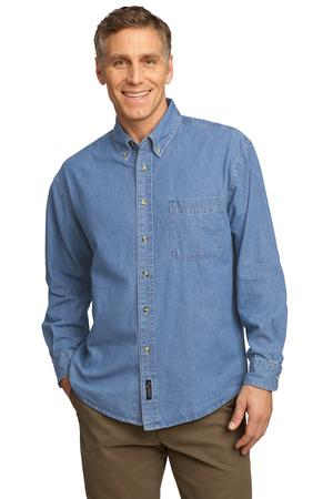 Port & Company – Long Sleeve Value Denim Shirt Style SP10 1