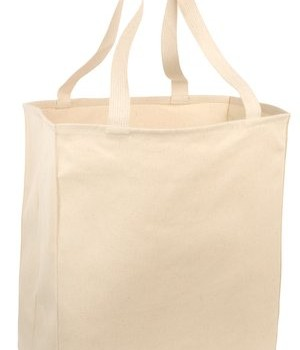 Port & Company Over-the-Shoulder Grocery Tote Style B110 1