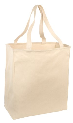 Port & Company Over-the-Shoulder Grocery Tote Style B110