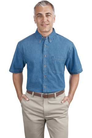 Port & Company - Short Sleeve Value Denim Shirt Style SP11