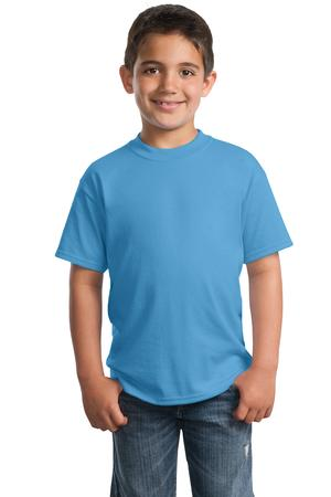 Port & Company - Youth 50/50 Cotton/Poly T-Shirt Style PC55Y