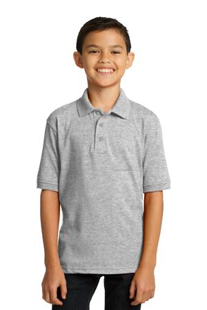 Port & Company Youth 5.5-Ounce Jersey Knit Polo Style KP55Y