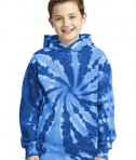 Port & Company Youth Essential Tie-Dye Pullover Hooded Sweatshirt Style PC146Y