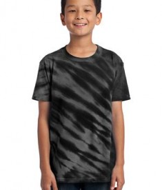 Port & Company - Youth Essential Tiger Stripe Tie-Dye Tee Style PC148Y