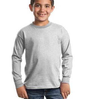 Port & Company – Youth Long Sleeve Essential T-Shirt Style PC61YLS 1