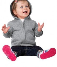 Precious Cargo Infant Full-Zip Hooded Sweatshirt Style CAR78IZH