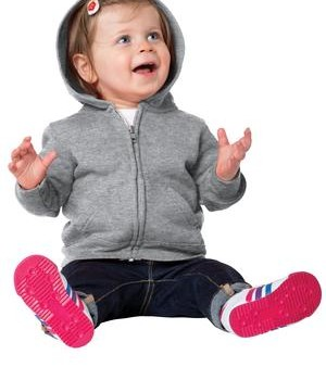 Precious Cargo Infant Full-Zip Hooded Sweatshirt Style CAR78IZH 1