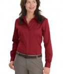 Red House - Ladies Nailhead Non-Iron Button-Down Shirt Style RH47