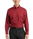 Red House RH37 Nailhead Non-Iron Button-Down Shirt Deep Red
