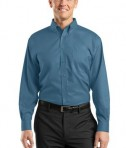 Red House RH37 Nailhead Non-Iron Button-Down Shirt Teal Blue