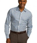 Red House Tricolor Check Slim Fit Non-Iron Shirt Style RH74