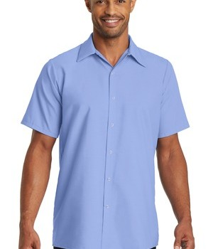 Red Kap – Short Sleeve Pocketless Gripper Shirt Style CS26 1