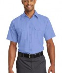 Red Kap Short Sleeve Solid Ripstop Shirt Style SY60