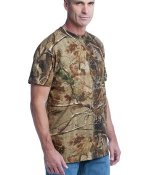 Russell Outdoors – Realtree Explorer 100% Cotton T-Shirt with Pocket Style S021R 1